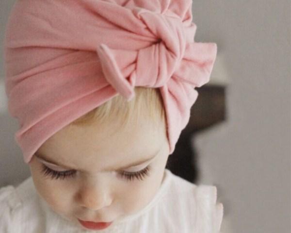 Bonnet turban bébé 0 à 24 mois