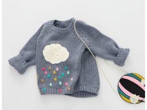 Pull en laine de qualité pour fille