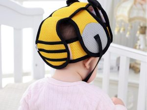 Casque en coton pour amortir les chocs de bébé contre le sol et les meubles