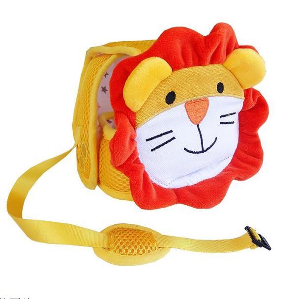 Casque bébé antichocs - Modèle lion