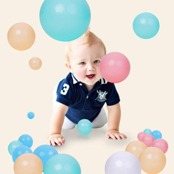 Boules multicolores - Jouet enfant / bébé