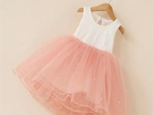 Robe tutu rose pour fille