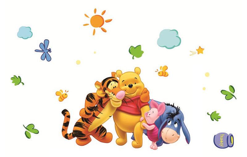 Sticker mural Winnie l\'Ourson - Déco chambre enfants / bébé