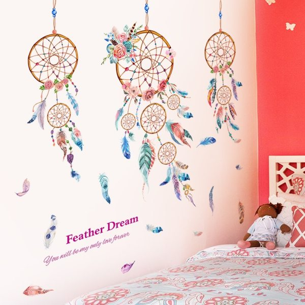 Stickers capteur de rêves chambre enfant