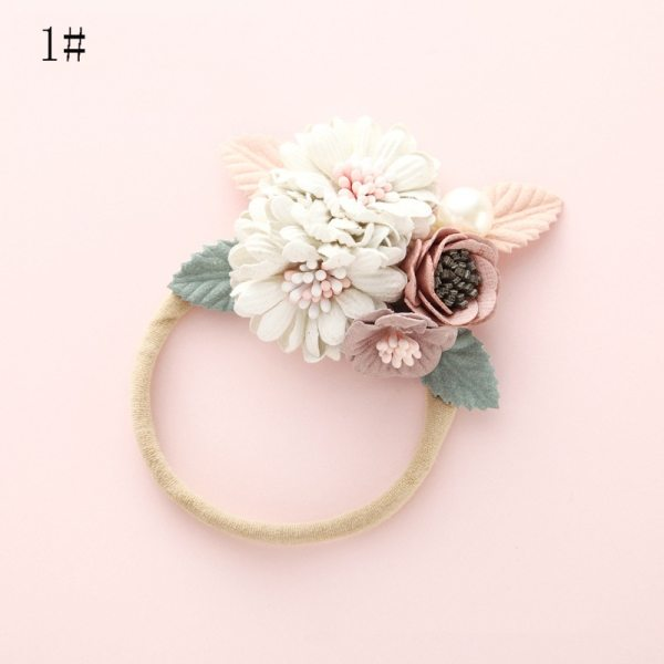 Bandeau fleurs n°1
