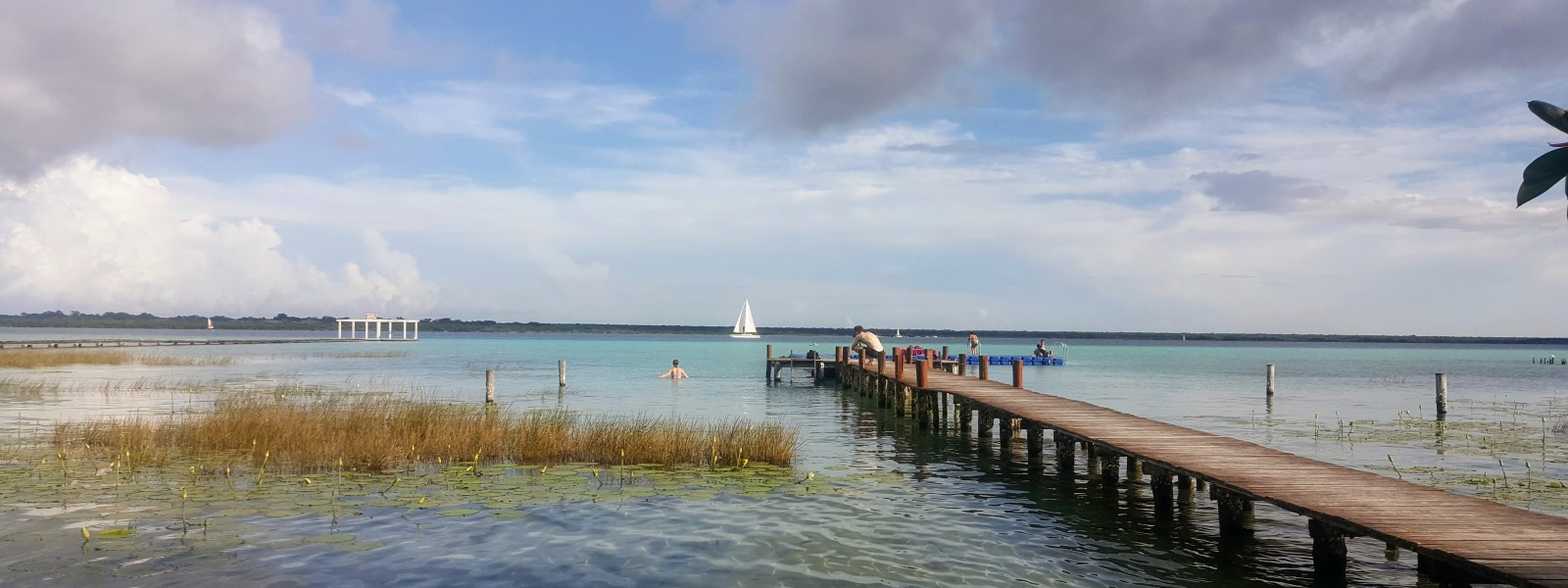 Bacalar and the Lagoon of Seven Colours