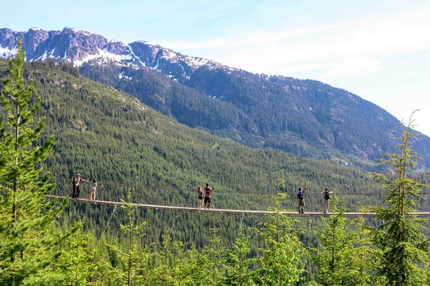 Sky Pilot Suspension Bridge - Sea to Sky Gondola, Squamish BC