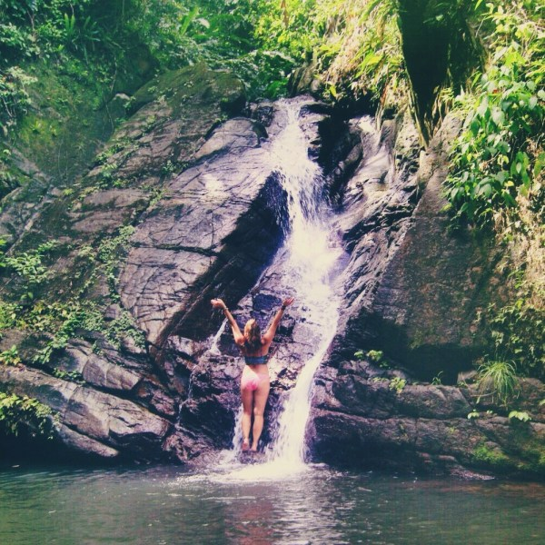 Castara Waterfall, Tobago