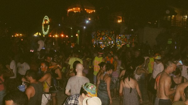 Full Moon Party! The most EPIC of all parties. 20,000-35,000 people all gathered on Haad Rin Beach in Koh Pha Ngan, Thailand