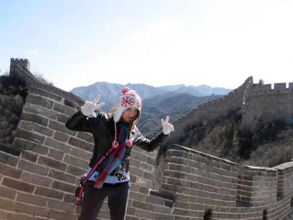 Badaling Great Wall 2 Nadine