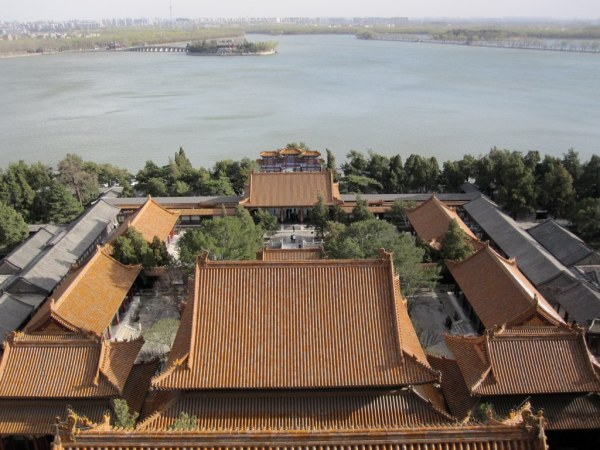 Summer Palace Courtyard Front