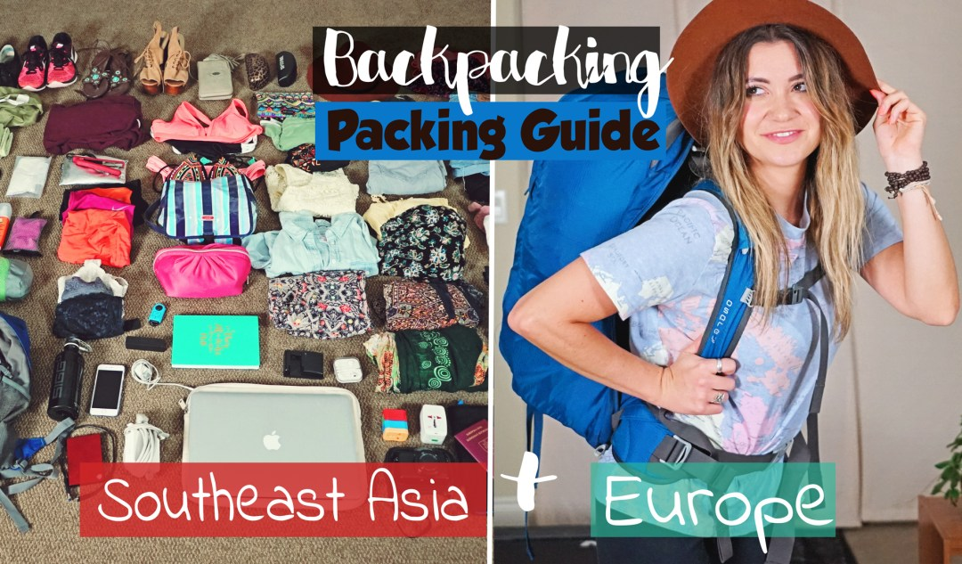 packpacking-Europe+SEA