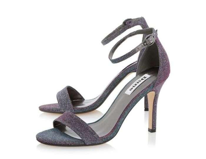 HeyRashmi Gift Guide: Dune Hydro Sandals in Metallic Purple