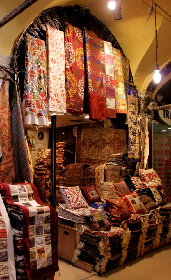 Carpet shop at the Grand Bazaar