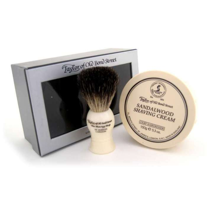 HeyRashmi gift guide: Taylor of Old Bond Street Sandalwood Shaving set