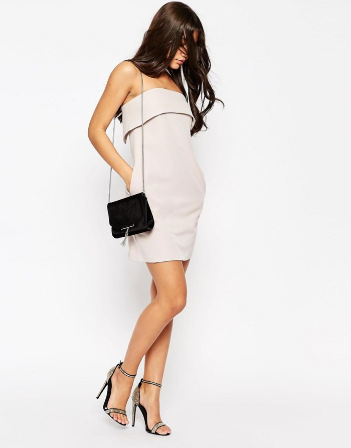 HeyRashmi Spring Dress Edit - Asos folded bandeau dress