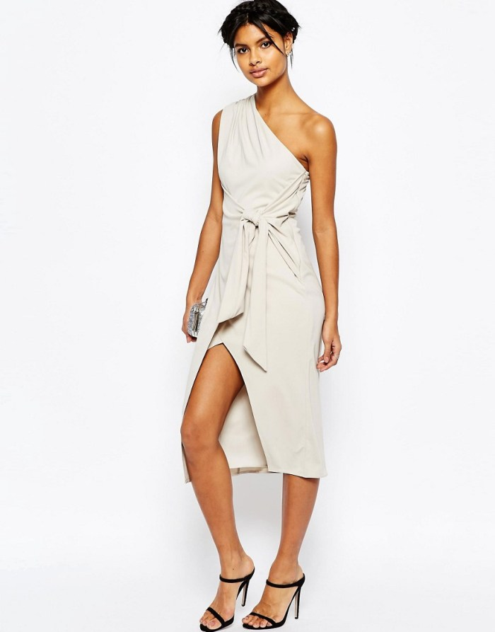 HeyRashmi Spring Dress Edit - Asos knot front midi dress