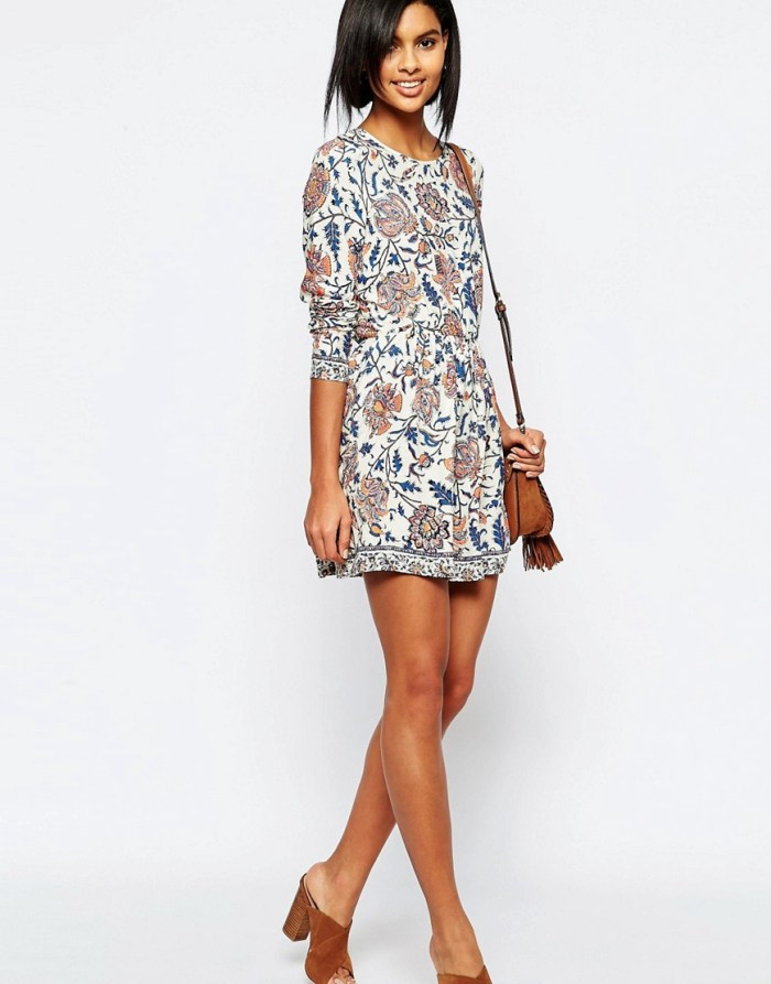 HeyRashmi Spring Dress Edit - Vero Moda folk smock dress