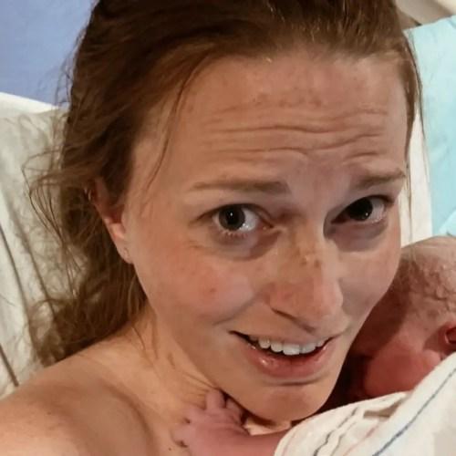 shocked after labor