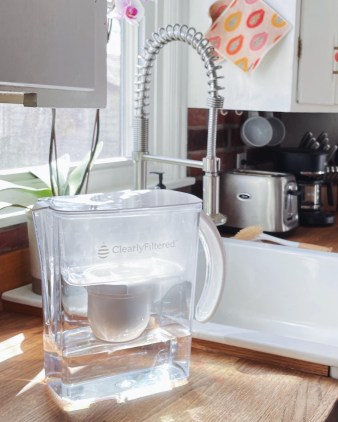 what is the best water filter pitcher clearly filtered discount code
