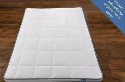 No crib floor bed mattress pad