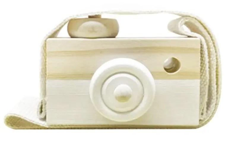 neutral camera nursery decor for a minimalist registry