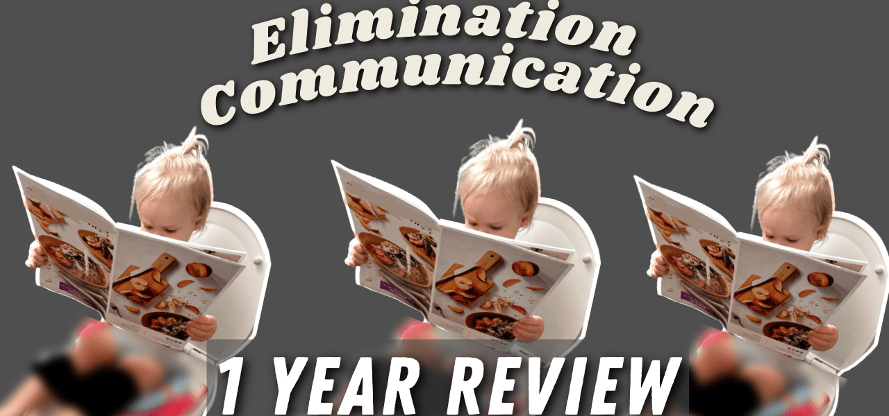Elimination Communication: 1 year review How potty training is going