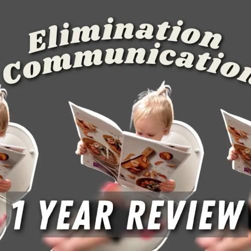 elimination communication one year reveiw