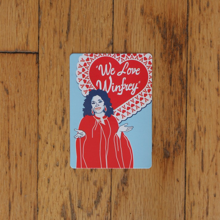 Chicago Playing Card: Oprah Winfrey, Ace of Hearts