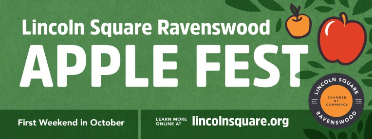 Lincoln Square Ranswood Chamber of Commerce • banner • Apple Fest