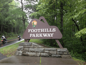 Foothills Parkway in Cosby TN
