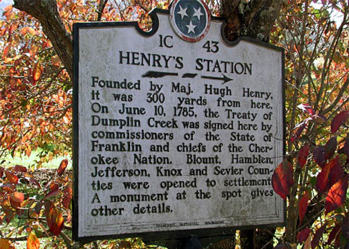 Kodak Tennessee Treaty of Dumplin Creek Smoky Mountains