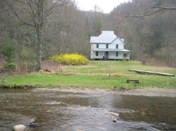 Caldwell House in Cataloochee