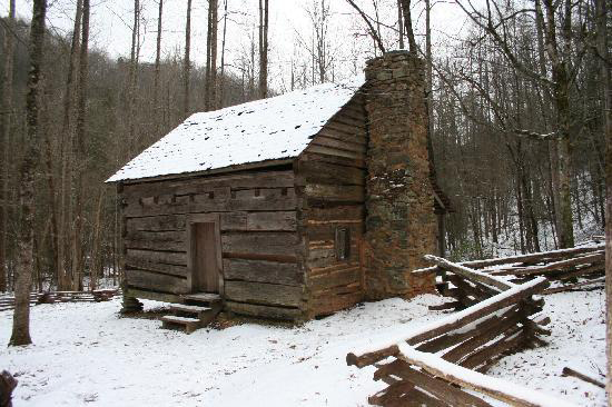 Winter in the Smoky Mountains is a beautiful time to visit!