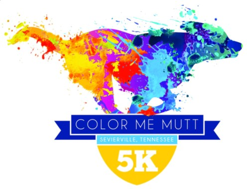 Color Me Mutt 5K Run/Walk May 14, 2016 Sevierville TN