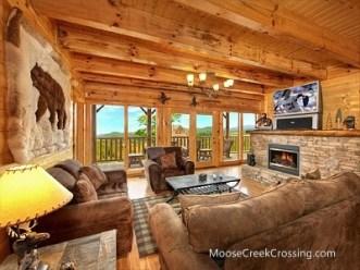 Moose Creek Crossing Cabins Interior