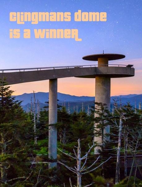 Clingmans Dome Wins $250,000 Grant