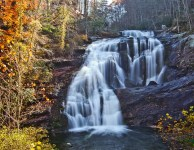 Bald River Falls on America's $100 Million Highway Cherohala Skyway