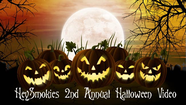 Happy Halloween 2016 from HeySmokies!