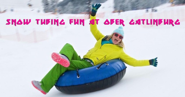Snow Tubing Fun at Ober Gatlinburg