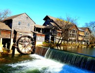 The Old Mill, Pigeon Forge has been the hub of Smoky Mountain Shopping for over a century!