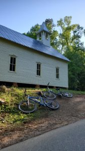 Cades Cove car ban allows you to take a break without all the noise and traffic.