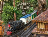 Biltmore gardens railway is fun for the entire family!