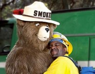 We all love Smokey Bear. Photo credit: adweek