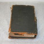 The Dan Lawson family bible. Photo credit - GSMNP
