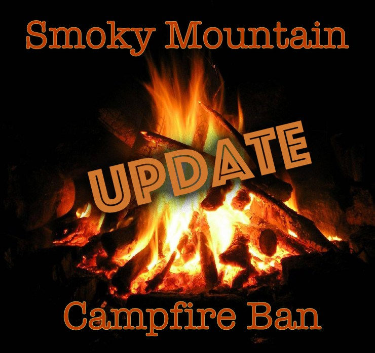 Smoky Mountain campfire ban lifted.