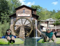 The new and improved Cades Cove grist mill experience will showcase tubing!