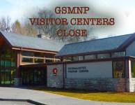 GSMNP visitor center close to slow Corona virus.