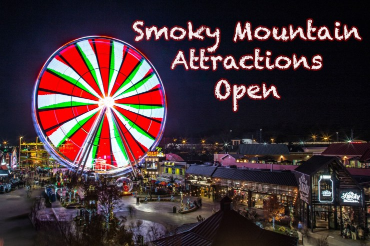 Smoky Mountain attractions open after COVID-19 closures.
