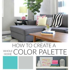 Color Combination Living Room Bars For Rooms How To Create A Whole Home Palette